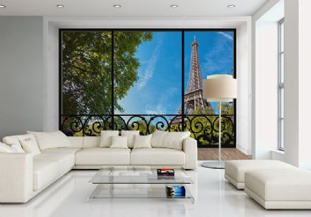 Tour Eiffel Paris in France giant wall mural